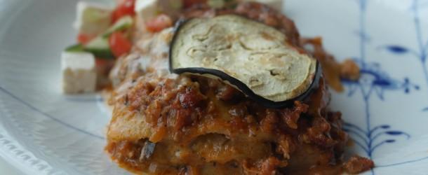 Klar att ätas-lasagne