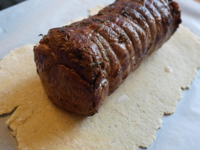 Steaken på degen