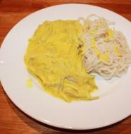 Kycklingcurry med pasta