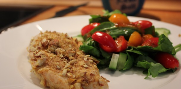 Kylling fra Bali med lækker marinade salat